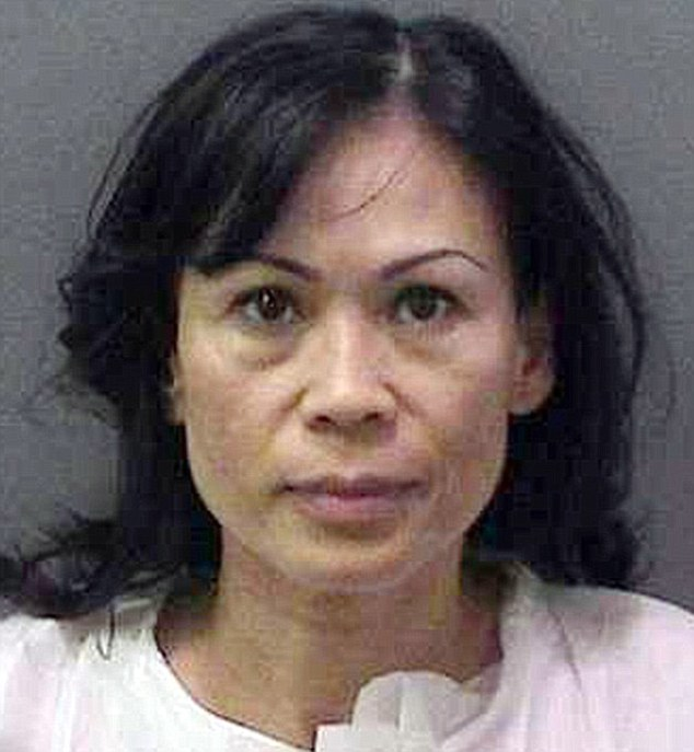 Jailed: Catherine Kieu,was found guilty of charges of torture and aggravated mayhem for the July 11, 2011, attack and has now been sentenced to seven years to life in jail