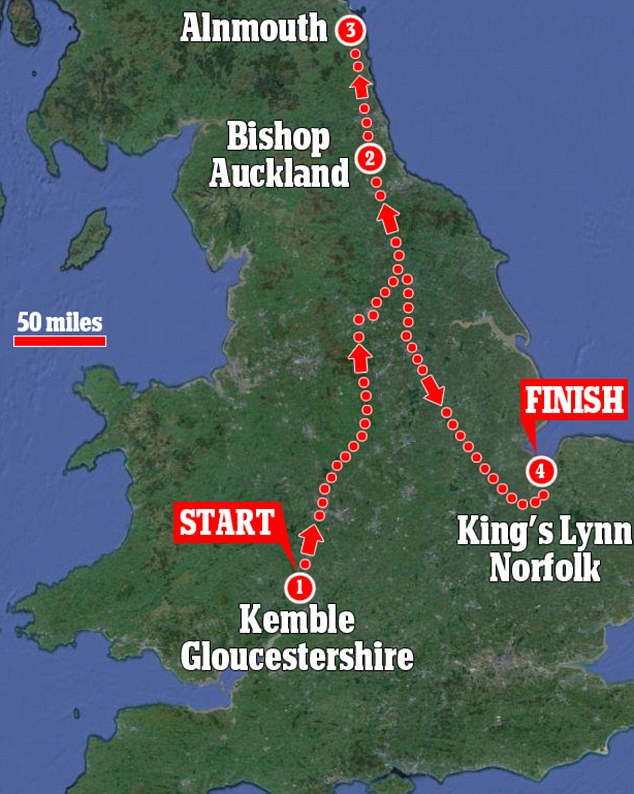 550-mile trip: How prince Charles travelled by Royal Train at a cost of £35,000 to the taxpayers