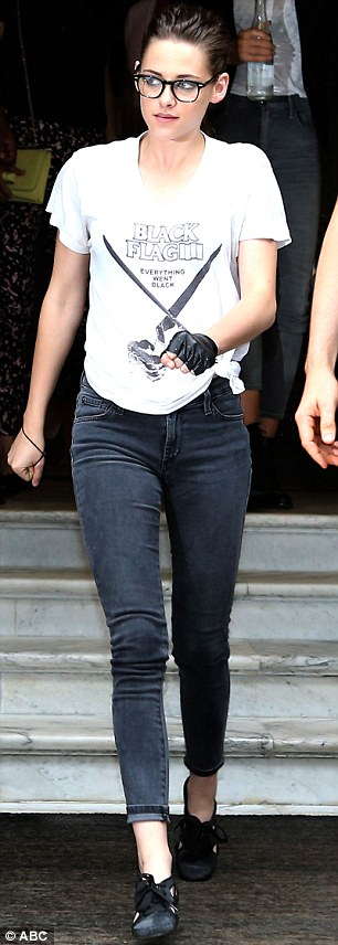 Kristen Stewart Gives First Glimpse Of Her New Punk Tattoo