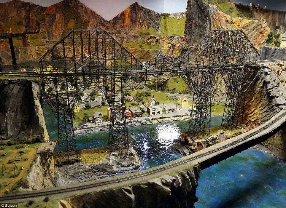 Spans: Northlandz boasts some 400 bridges for its model trains to cross