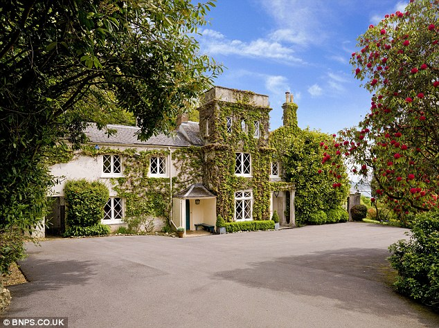 Classic: Ware House featured in the 1981 film adaptation of The French Lieutenant's Woman and is now on the market for £3million