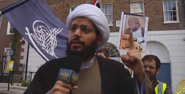 hate cleric Shia Muslim Sheikh Yasser al-Habib.