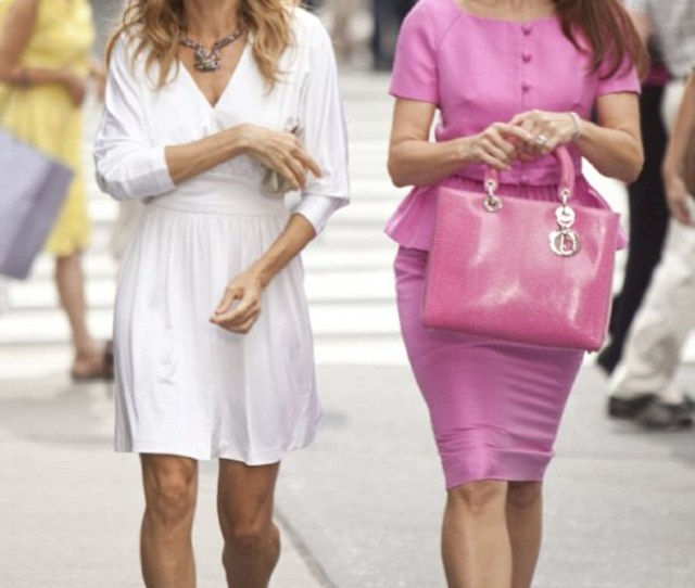 Different Look As Charlotte In Sex And The City Kristin Always Dressed Prim And