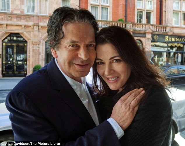 'Heartbroken': Charles Saatchi has begun divorce proceedings against Nigella Lawson