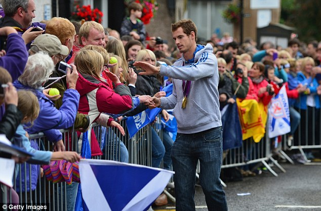 Murray survived the Dunblane Massacre and returned to the town a sporting hero