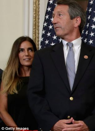 U.S. Rep. Mark Sanford (R-SC) (R) and his fiance Maria Belen Chapur