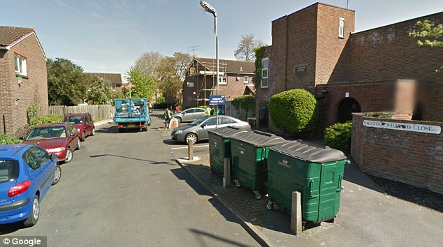 Joyner, of Vaughan Williams Close in Deptford (pictured), has a host of mental conditions, according to a mental health expert heard in court