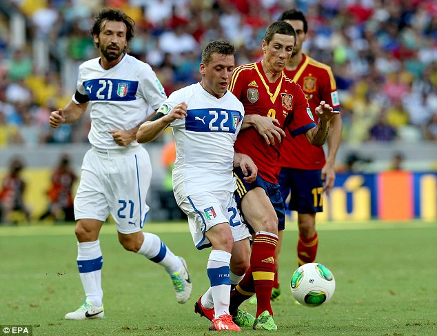 Cut price: Sunderland will sign Giaccherini for about £1.5million less than originally expected as Juventus recoup some money for a spending spree of their own