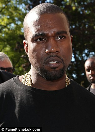 Even affects the boys: Kayne West and Ed Westwick are often caught with a Bitchy resting Face, when a person looks 'thoughtfully sad or angry for no reason'