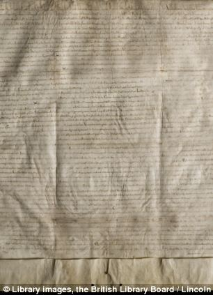 Another copy of the Magna Carta is kept at Lincoln Cathedral