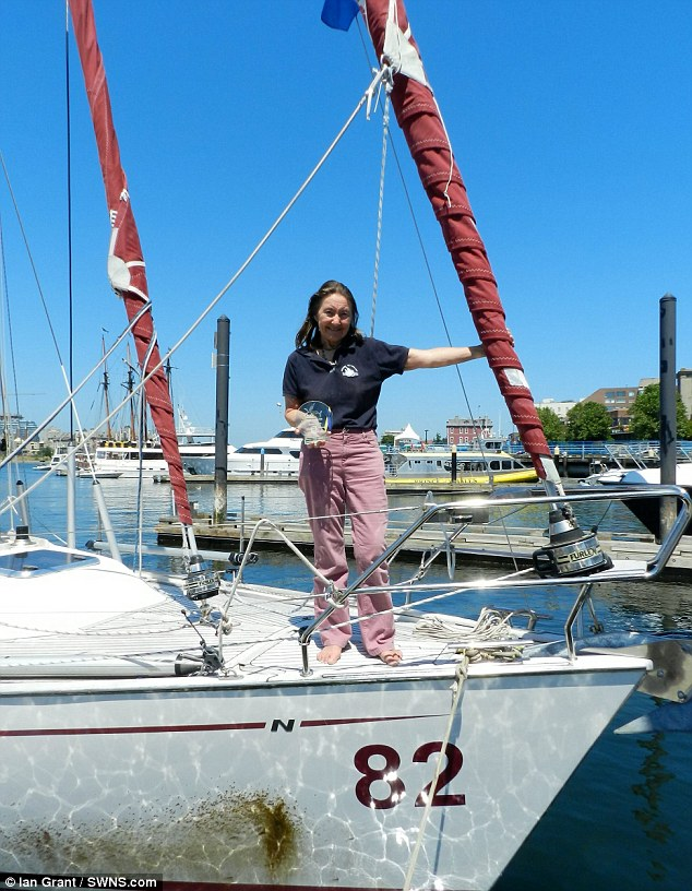 Oldest woman to circumnavigate the globe reaches her goal in Victoria