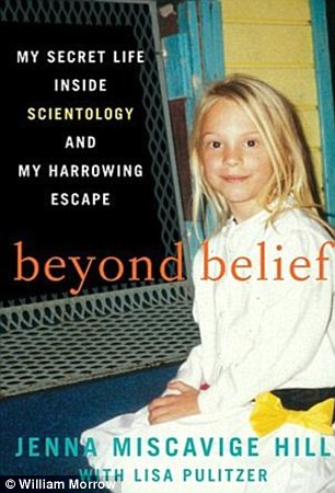 Troubled: Jenna Miscavige released a book on being brought up in Scientology earlier this year. She managed to finally leave the church when she was 20.