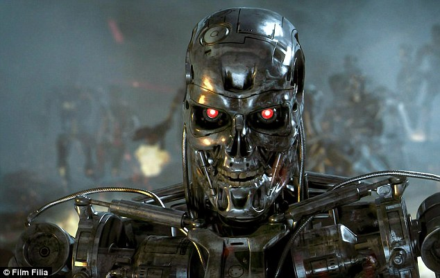 Judgement day: The robot's ability to enter disaster zones could also be used in war