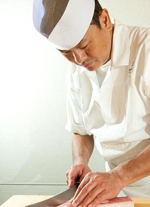 Chef Yoshi Take in Tokyo
