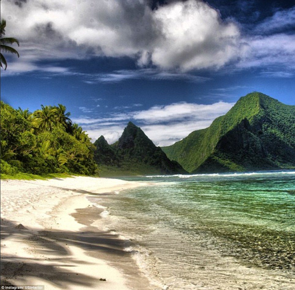 American Samoa: The white sand and tropical waters of the National Park of American Samoa