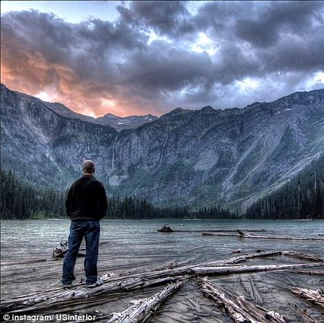 Montana: Avalanche Lake in Glacier National Park