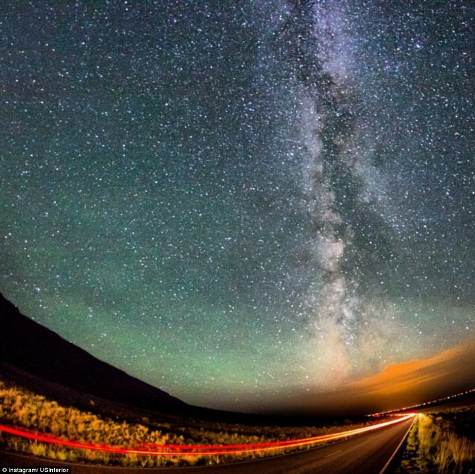 Colorado: The Milky Way as seen over the Great Sand Dunes National Park