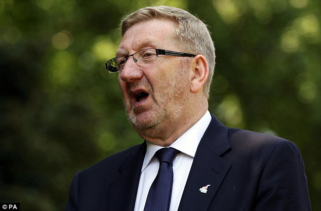 General Secretary of Unite union Len McCluskey is in the midst of a bitter dispute with Labour leader Ed Miliband over the Falkirk selection battle