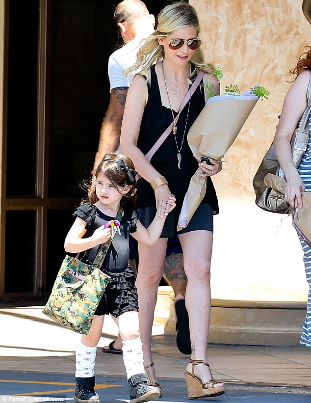 Cute Baby Shoes Wallpaper Sarah Michelle Gellar S Daughter Charlotte Is Pretty As A