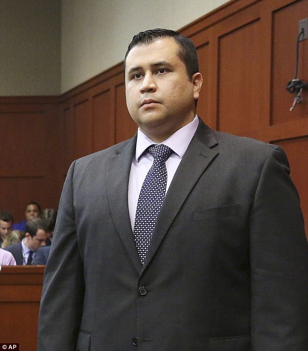 Free man: George Zimmerman 'has no further business before the court' and is free to go after he was acquitted of all charges in the killing of 17-year-old Trayvon Martin on Saturday night