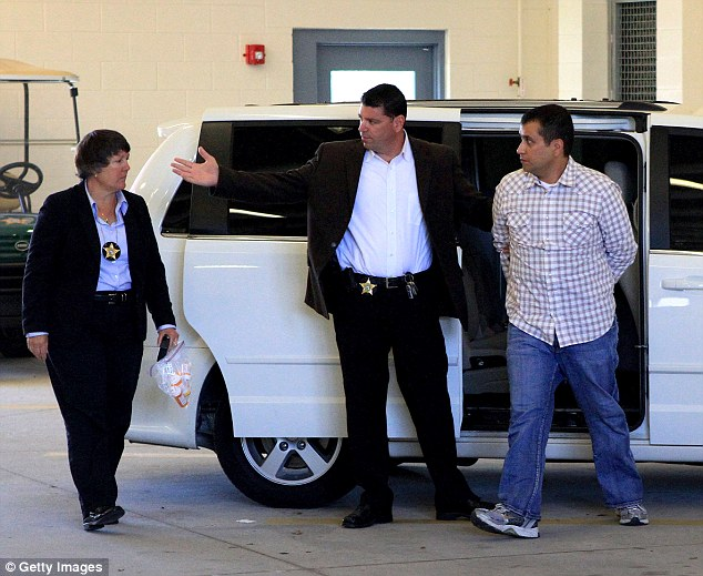 Zimmerman reportedly wore a bulletproof best, and often, a disguise when he went out in public while he was awaiting trial
