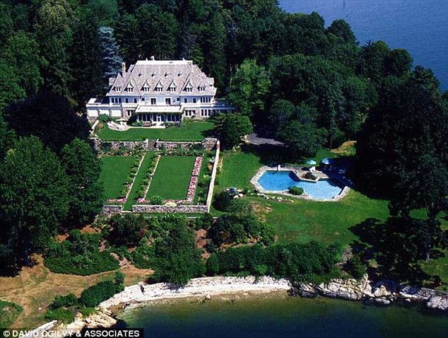 Estate: Much of the home's value is in the fifty acres of land and more than a mile of waterfront property