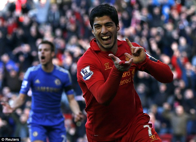 On the move? Suarez has hinted he is keen to leave Liverpool