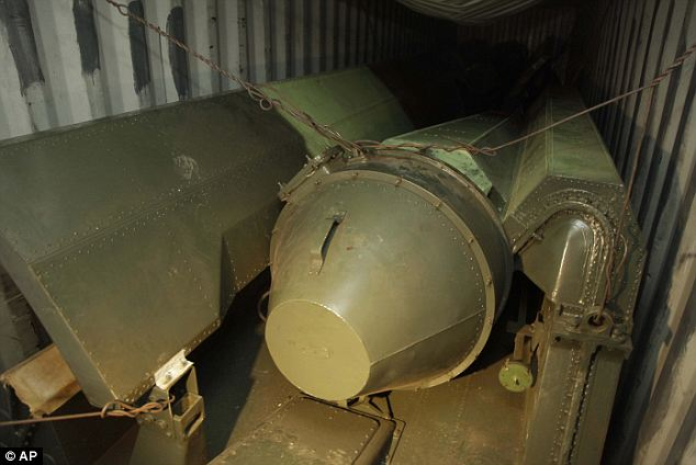 Controversy: Cuba has said missiles found buried under sacks of sugar on a ship bound for North Korean ship were obsolete which had been sent to the secretive state to be repaired