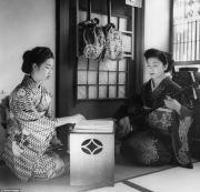 memories of 1950s geisha stunning