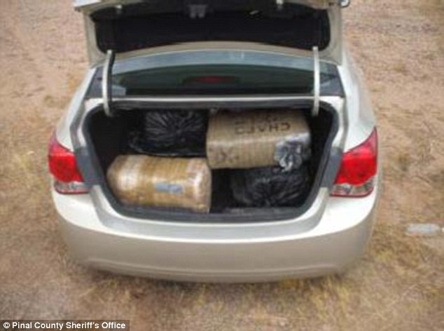 Weed: Authorities found more than 220 pounds of marijuana in Jupa-Fino's vehicle