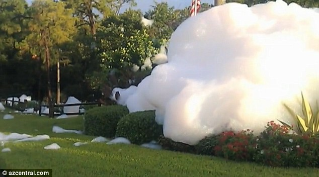 Soap Prank Bubbles Bellow Out Of Control And Cause Foamy