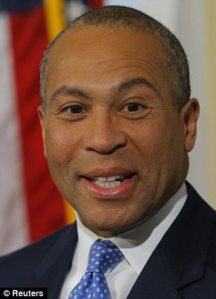 Boston Mayor Thomas Menino has labeled Rolling Stone magazine's decision to use Boston bombing suspect Dzhokhar Tsarnaev as its cover a 'total disgrace' while Massachusetts Governor Deval Patrick (right) said it was in bad taste
