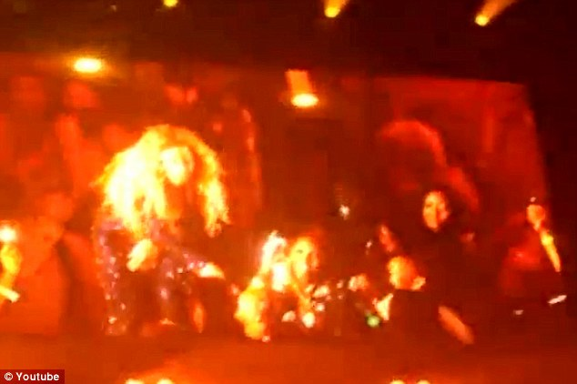 Not happy: The outing comes after a video emerged of Beyonce blasting a fan for filming her at one of her shows