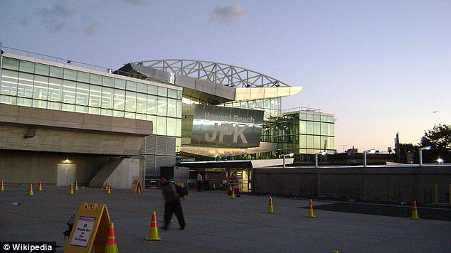 New addition: JFK Airport was the scene of the unfortunate death of New Jersey man Gunseye Adekunle over the weekend, who suffered a heart attack in the glossy new Terminal 4