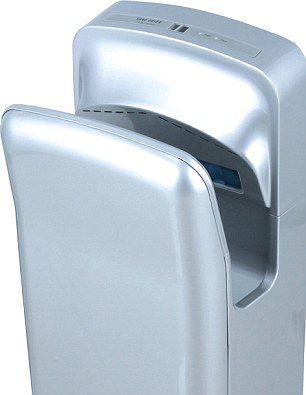 Dry in seconds but as noisy as 'a road drill': Super fast hand dryers may be loud enough to damage people's hearing