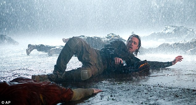 Pitt, as a UN operative, is forced to battled the undead in the film, which is tipped for a sequel