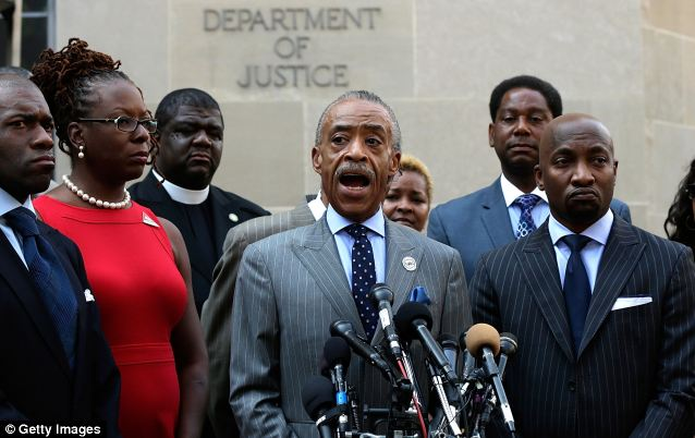 MSNBC host Al Sharpton has planned a series of 'Justice for Trayvon' rallies, one of whose goals will be to call on the federal government to prosecute Zimmerman