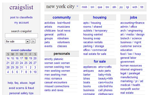 The bizarre request was posted on July 16 in the 'casual encounters' section of Craigslist in Philadelphia