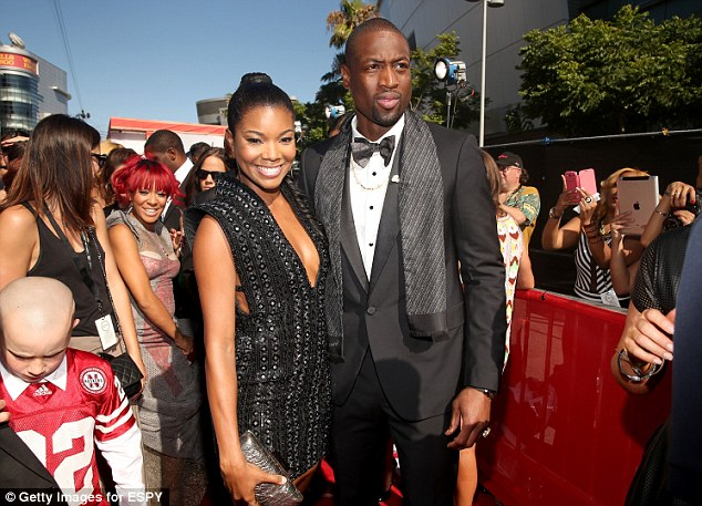 Moving on: Wade has been dating actress Gabrielle Union since his divorce from Funches