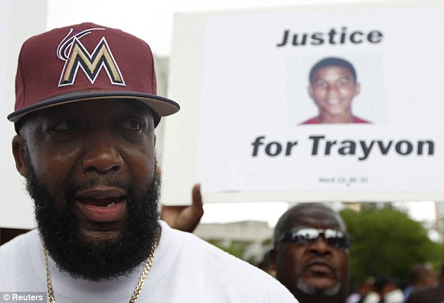 Speech: Trayvon's father, Tracy Martin, tells crowds in Miami he will continue to fight for his son