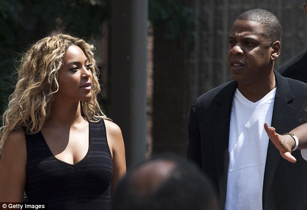 Connection: Celebrity couple Beyonce and Jay Z say as parents they can understand the pain of the verdict