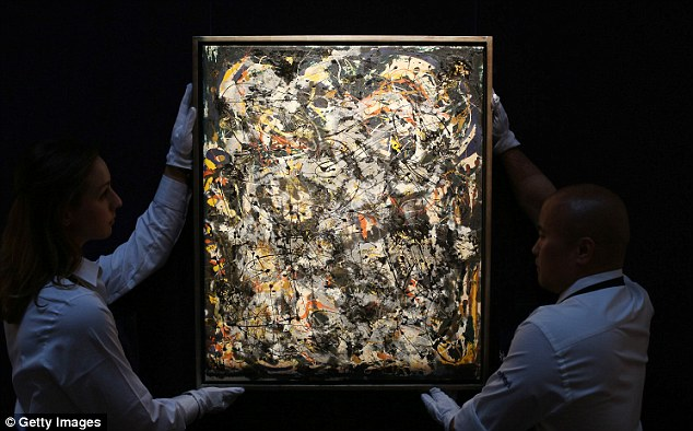 Authentic: This is what a REAL Jackson Pollock painting looks like