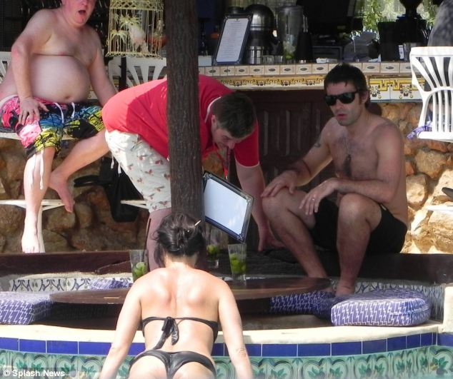 In the wake of the scandal, Gallagher has acted in typically belligerent fashion. The day the story broke, he sat in the pool bar of his Ibiza hotel, drinking rum cocktails