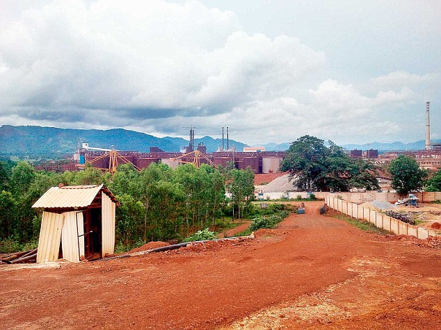 The controversial Vedanta plant in Lanjigarh