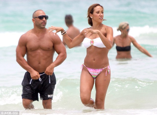 Melissa Gorga Shows Off Her Toned Figure In A Strapless
