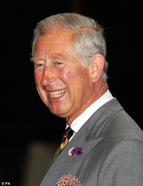 The Prince of Wales during a visit to the National Railway Museum in York today