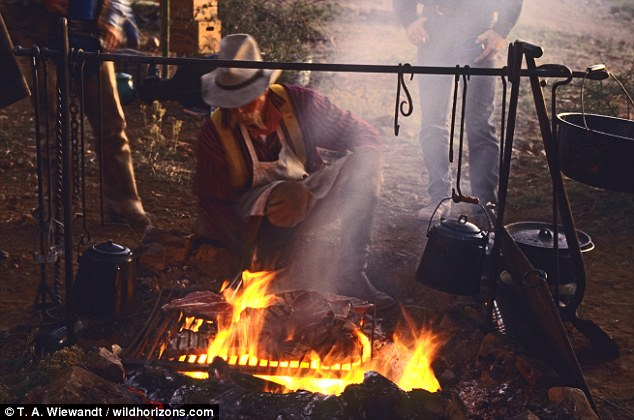 Mesquite BBQ: This is a mesquite BBQ famed across the world as originating in Texas