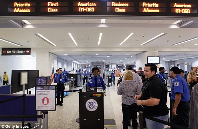 Expanding: A similar version of the program is in place at 40 countries right now but the new expansion will start at Washington's Dulles airport and the Indianapolis, Indiana airport later this year