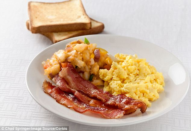 Beneficial: Skipping breakfast may increase your chances of a heart attack, a new study shows