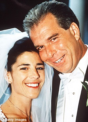 Clinton connections: Hillary Clinton's brother Anthony Rodham (pictured right with his bride Nicole Boxer in 1999) is president and CEO of Gulf Coast Funds Management LLC in McLean, Va